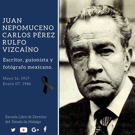 #UnDíaComoHoy pero de 1986, murió en la Ciudad de México (#CDMX) Juan Nepomuceno Carlos Pérez Rulfo Vizcaíno, autor de Pedro Páramo y El llano en llamas. #HistoriaDeMéxico #ELDEH #ConoceTuHistoria