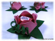 Blumen mit Mon Cheri