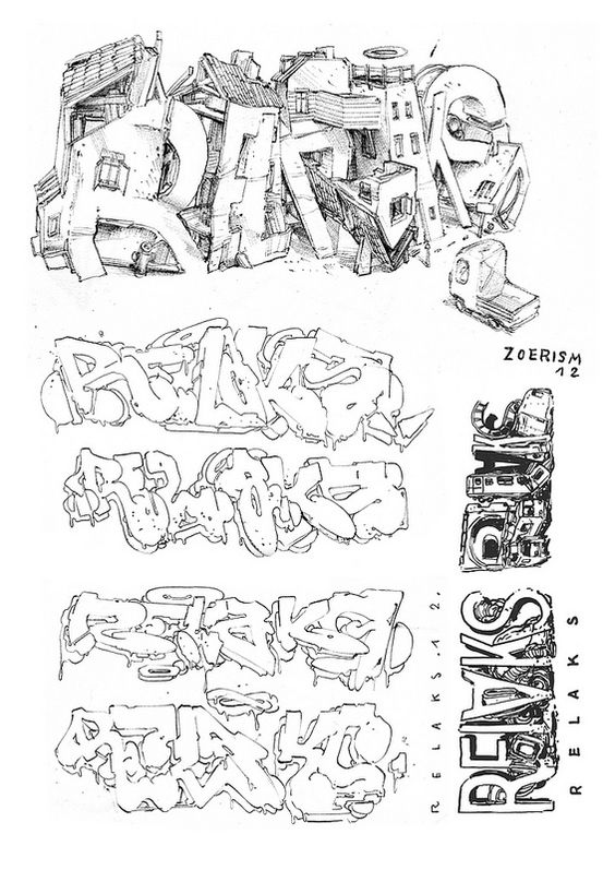 """ZOER 'RELAKS"""" direct traces by zoercsx, via Flickr"""