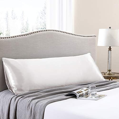 Love S Cabin Body Pillow Cover 20x54 Inches Ivory White Soft
