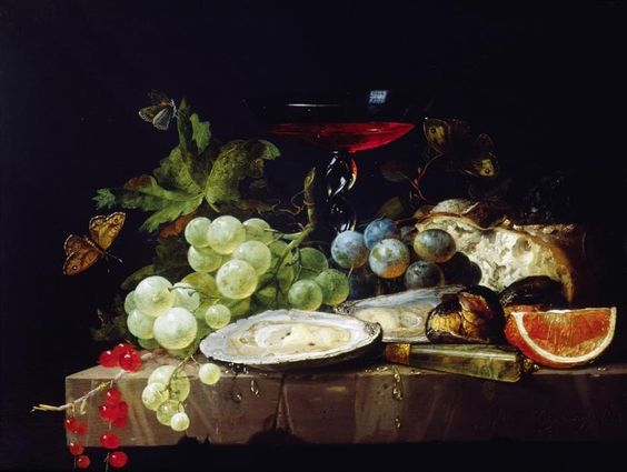 'Stillleben mit Früchten', Ende 17. Jh. Jacob Van Walscapelle  -Naturaleza muerta con frutas -