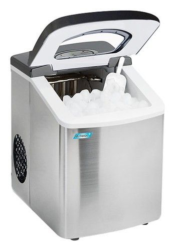 Mr Freeze 9 8 26 Lb Portable Icemaker Stainless Steel