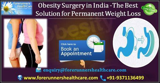 obesity surgery and surgeons in India