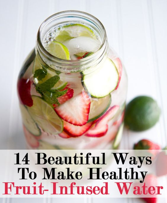 Water drinks and sodas on pinterest for How to make flavored martinis
