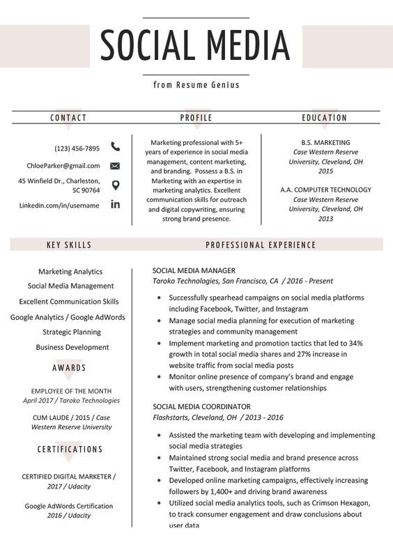 Do You Want To Boost Your Career Get The Most Objective And Professional Resume Review From Our Hir Marketing Resume Digital Marketing Manager Resume Examples