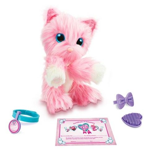 Little Live Pets Scruff A Luv Pink Target Little Live Pets Pets Birthday Toys