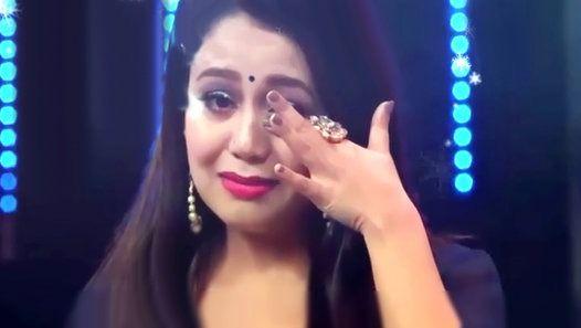 Neha Kakkar Crying For Jayas Kumar Neha Kakkar Indian Meme Indian Idol