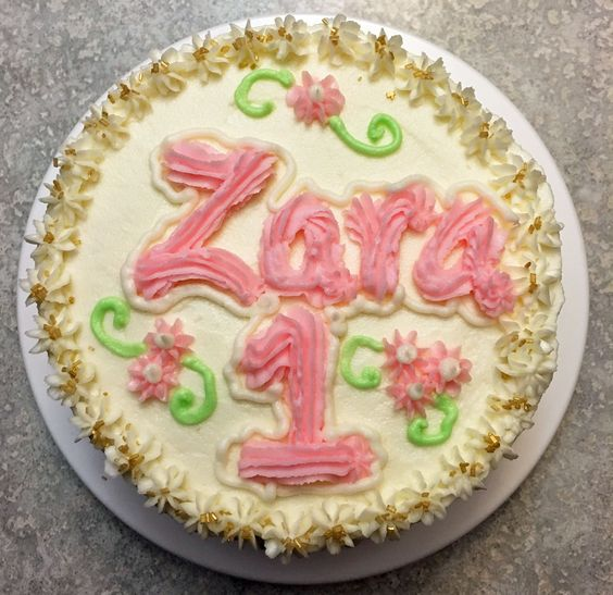 Zaras very own birthday cake Cakes Not perfect but they