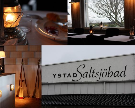 Ystad Saltsjöbad - a lovely hotel & spa but also a breakfast buffet in beautiful setting by the sea.