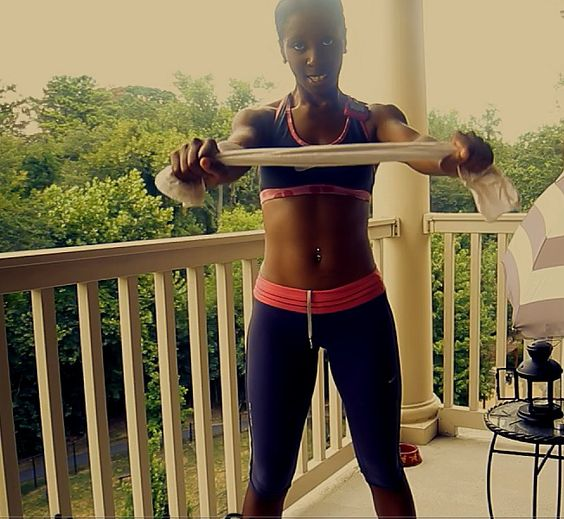 Body Workout With Towel: Upper Body Workout With No Weights, Just A Towel As