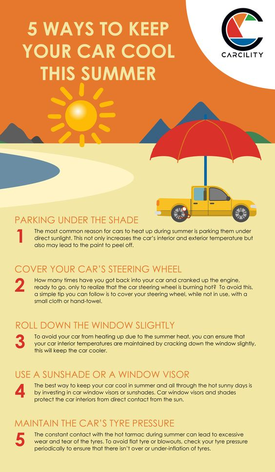 How to Keep Your Car Cool this Summer