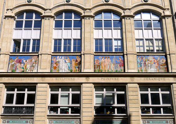 Faïencerie Loebnitz (1884) 4, rue de la Pierre-Levée Paris 75011. Architecte : Paul Sédille.