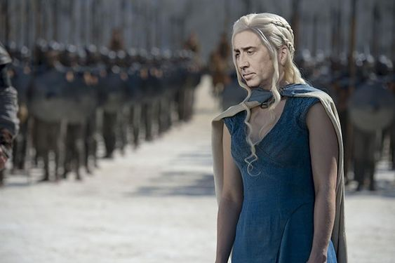 E se os personagens de 'Game of Thrones' fossem interpretados por Nicolas Cage?