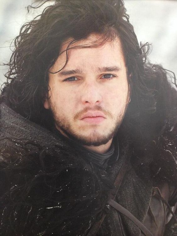 Jon Snow -  winter is coming so I volunteer to cuddle with him to keep warm.
