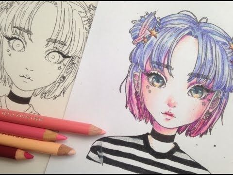 How To Colour With Coloured Pencils Colouring For Beginners 3 Ways To Color With Colored Pencils Realist Color Pencil Sketch Coloring Tutorial Anime Drawings