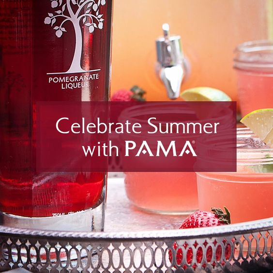 Celebrate Summer & Enter the #PAMACelebrateSummer #contest PAMA Pomegranate Liqueur