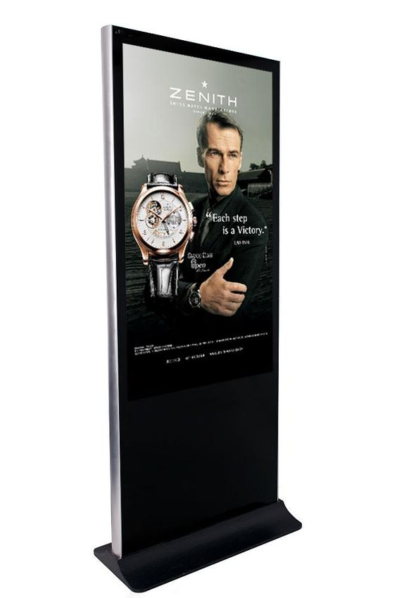 digital signage and interactive kiosk