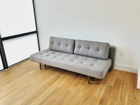 Deco Convertible Sleeper Sofa Modern