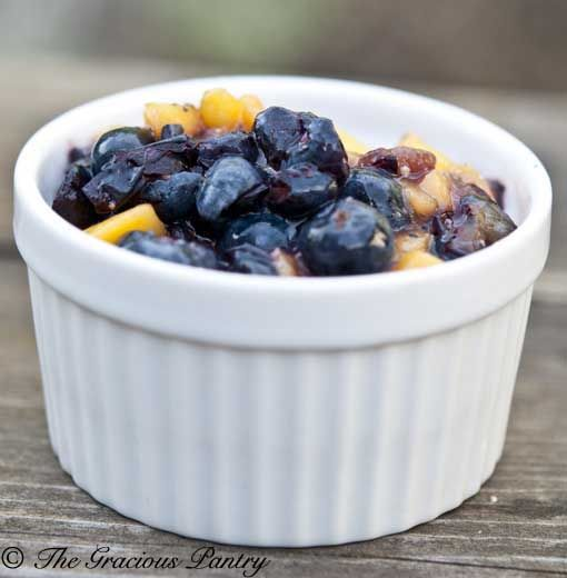 Clean Eating Blueberry Mango Salsa: Eating Recipe, Food, Graciouspantry