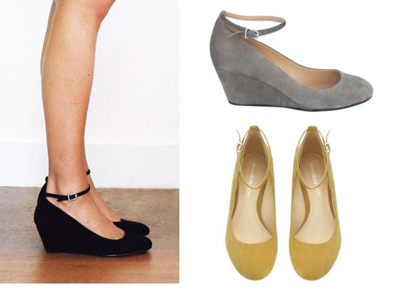 I LOVE suede shoes!! Obsessed.  Now, what color. I want them all! $115
