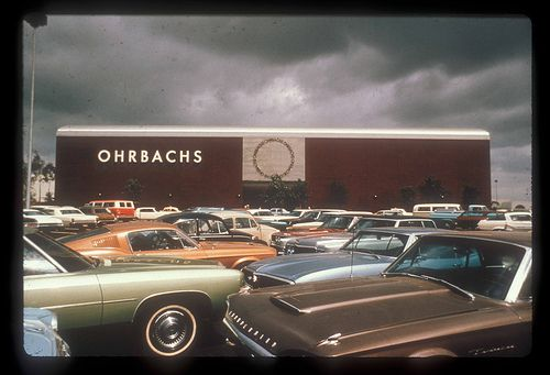 ohrbachs department store gotta   store  del amo  torrance ca hey south bay ca