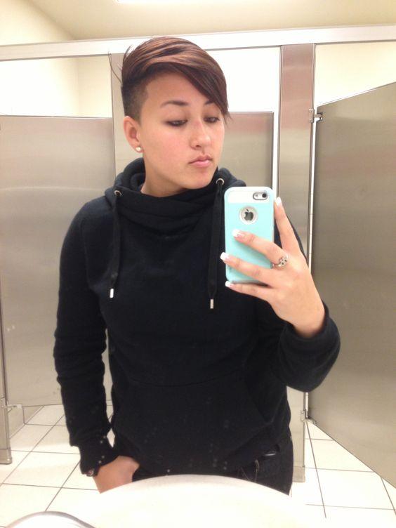 Teen Lesbian Haircuts 29