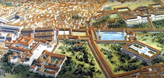 Nero's Domus Aurea