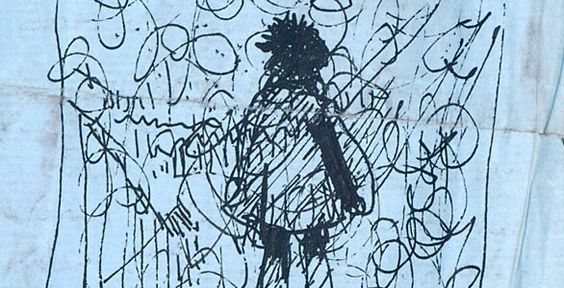 "Drawing by Roger ""Syd"" Barrett"