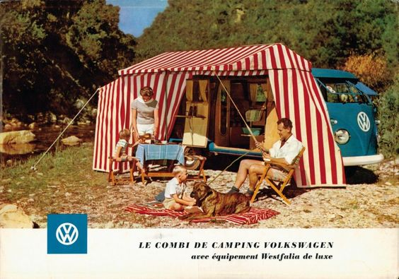 Very cool ad. Just learned we owned & cruised in a '58 VW Camper van as a child when we were living in Germany. Sa-weeet!