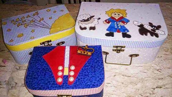 Objetos by Déa: maletas O Pequeno Príncipe