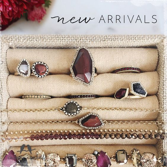 Time for the rich colors of Fall 🍂🍁 #chloeandisabel #fallcollection #stones #jewelry