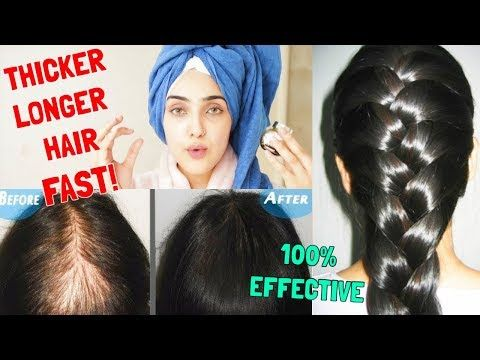 2 How To Get Longer Thicker Hair In One Week Natural Diy Grow Hair Fast Immy Youtube Long Thick Hair Thick Hair Remedies Thick Hair Styles