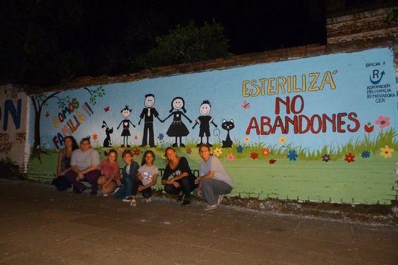 28 de abril de 2014 - Mural Conmemorativo Día del Animal