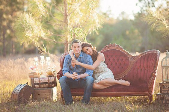 romantic vintage photo shoot