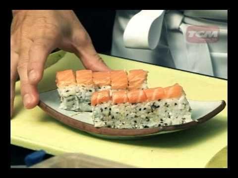 Dica de Gastronomia com três tipos de sushis