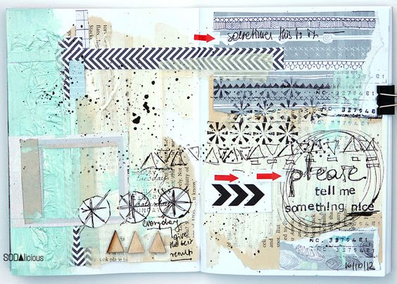 made by Muma ► SODAlicious art journal challenge No12