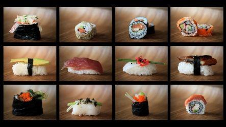 Þarf að fara að æfa mig í sushi gerðinni