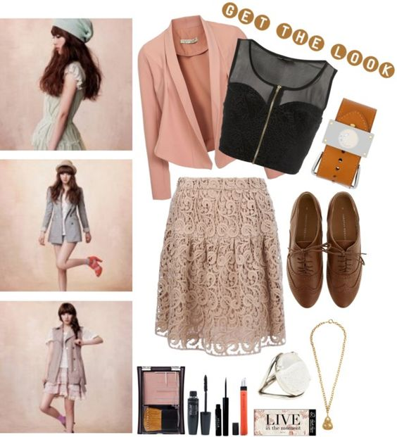 """""""Get The Look"""" by rabbanisyaa ❤ liked on Polyvore"""