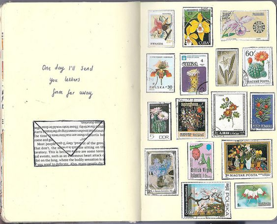 Katie Drew: clocks and stamps