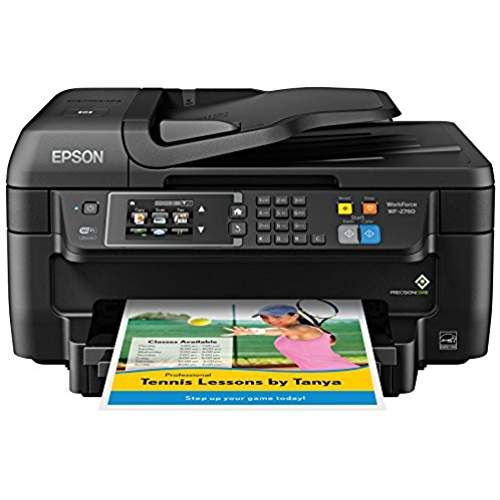 Epson Wf 2760 All In One Wireless Color Printer With Scanner