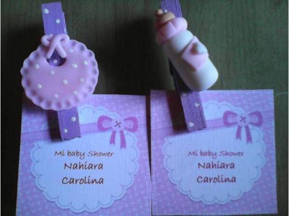 fotos de souvenirs para baby shower broches madera pinterest