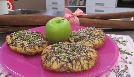 Cookies mit Karamell und Apfel: Das Rezept aus Enie backt