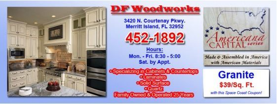 $39/Sq Ft Granite With This Space Coast Coupon @  DF Woodworks, Merritt Island FL  http://spacecoastcouponsofbrevard.com/coupons/df-woodworks
