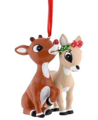 Department 56 Rudolph and Clarice Ornament