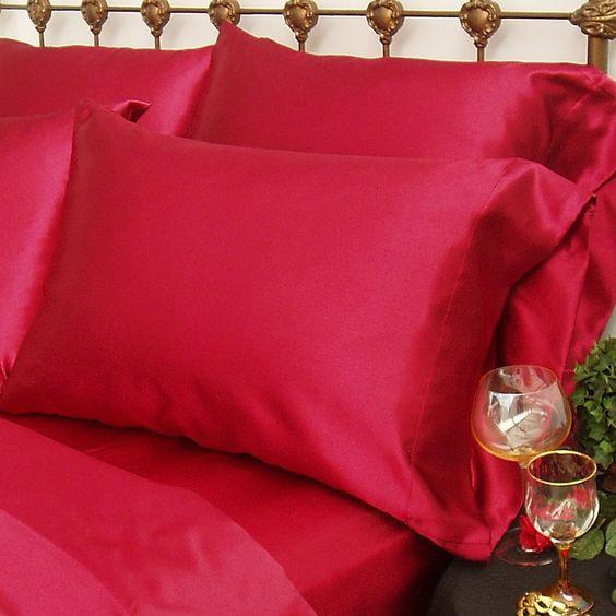 Charmeuse Satin King Pillow Case