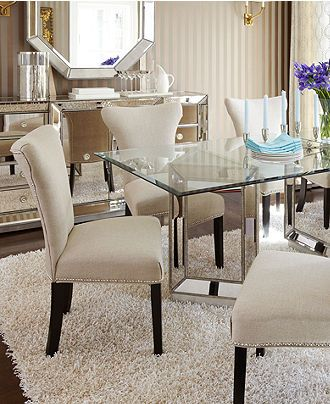 Sophia Dining Room Furniture 7 Piece Set 76 Quot Table And 6