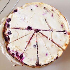 Healthy Living in Heels: Quark Blueberry Cheesecake!