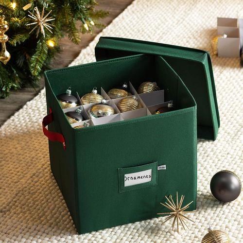 Beautifull Christmas Tree Decorations Storage Box Christmastreedecorationsstorageb Christmas Ornament Storage Box Ornament Storage Christmas Ornament Storage