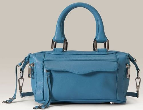Rebecca Minkoff Morning After Mini Mini (MAMM) in blue