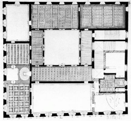 Palazzo floor plan palazzo medici riccardi plan of the for Palazzo floor plan